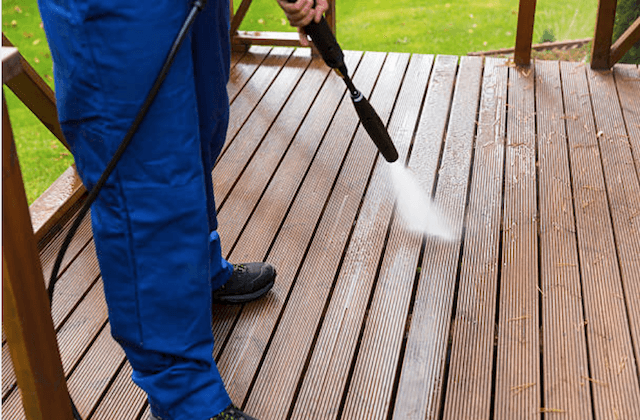 deck cleaning cambridge