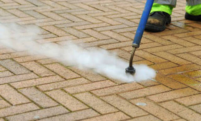 commercial concrete cleaning in cambridge